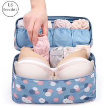 New Travel Bra Bag Underwear Organizer Cosmetic Daily Toiletries Storage Womens High Quality Wash Case