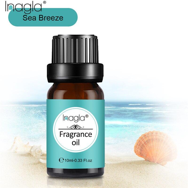 Inagla морской бриз 100% натуральный ароматерапия аромат эфирное масло для ароматерапии диффузоры массаж снимает стресс свежий воздух