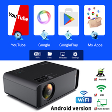 Proyector 2020 Mini LCD LED Projector Type UNIC W80 Full HD Projector