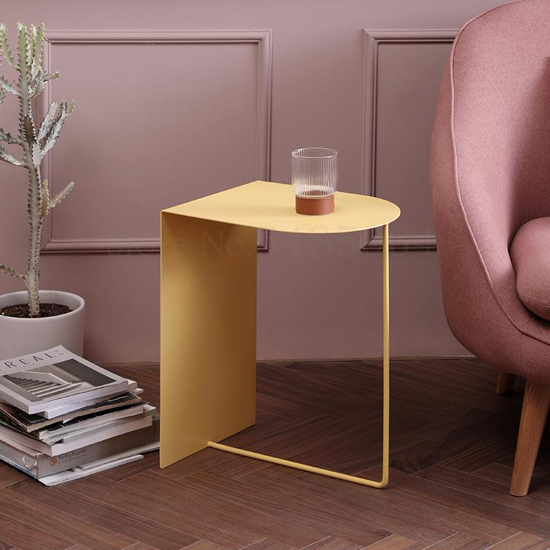 Minefine | Denmark Design | Fashion Side Table Nordic Style Side Table Home Sofa Small Side Table Simple Bedside Table