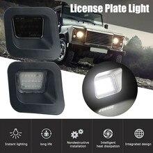 2 pçs led luzes da placa de licença traseira canbus erro número livre placa luzes lâmpada de sinal apto para dodge ram 1500 2500 3500 2003-2018
