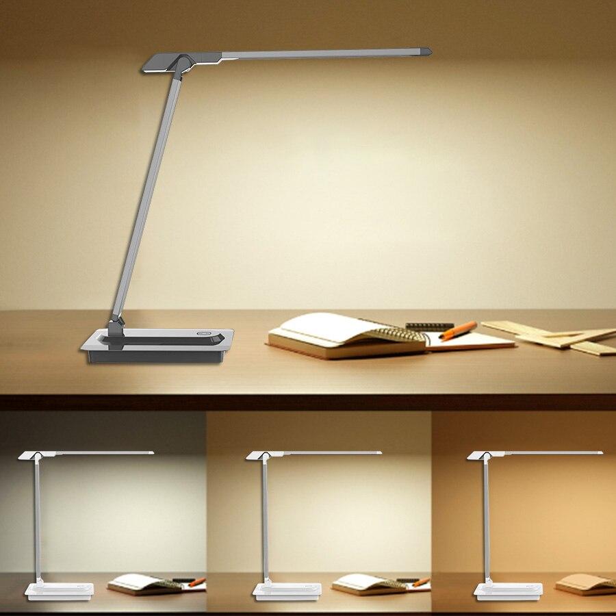 Купить портативный светодиодный настольный светильник 7 вт настольные