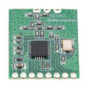 Image 4 - 10 sztuk moduł bezprzewodowy CC1101 duża odległość antena Trans 868MHZ M115