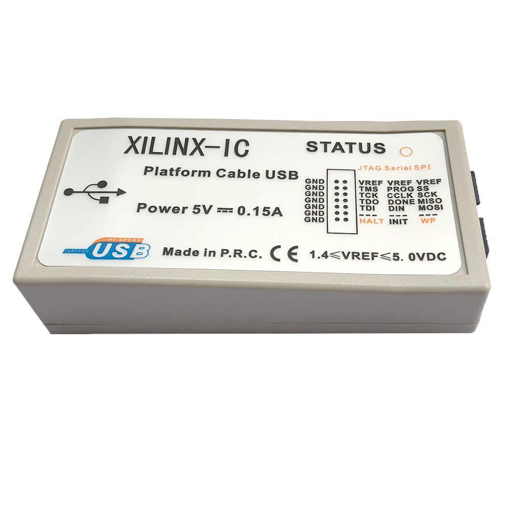 Кабель платформы Xilinx, USB-кабель для загрузки, программатор Jtag для версии XILINX CPLD FPGA ISP PROM DLC9