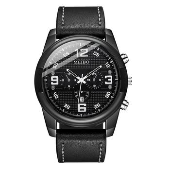 Fashion Men Watches Men's Leather Band Unisex Simple Busines Analog Alloy Vintage Quartz Watch 2020 Top Brand Male Clock 2017 top new creative irregular shape quartz men watch women super simple industrial style watch fashion waterproof unisex clock