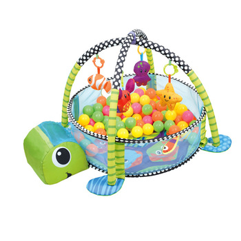 Baby ocean Ball Fitness rack 6-12-24 months old baby fence crawling pad Amazon cross border toys image