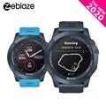 Smartwatch zeblaze vibe 3 gps, relógio inteligente à prova d' água com múltiplos modos de esportes e frequência cardíaca, bateria útil, gps android/ios