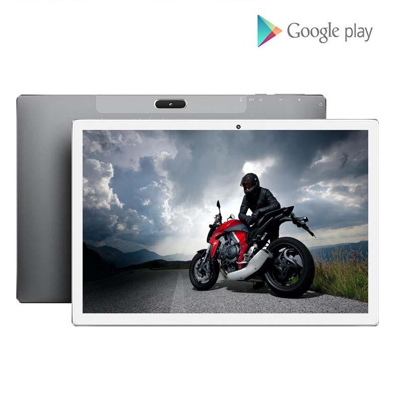 10 Polegada tablet pc deca núcleo 6gb ram 128gb rom 2.5d câmera de vidro temperado android 9.0 almofada wifi gps