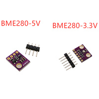 I2c spi 3.3-5 v module of bme280 sensor 5v 1.8 v digital temperature humidity barometric pressure sensor
