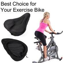 Engrossado assento da bicicleta para mountain bike conforto almofada macia confortável sela assento capa de espuma bicicleta ciclo de assento para o exercício
