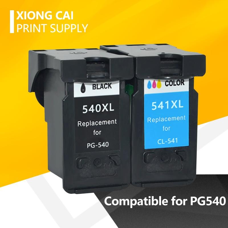 2pcs PG540 CL541 PG-540 PG 540 Compatible Ink Cartridge For Canon MX375 MX395 MX435 MG2150 MG2250 MG3150 MG3250 MG4150 MG3650
