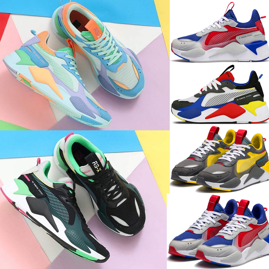 Men & Women RS-X Reinvention Running System White Black Blue Red Yellow Shoes Athletic Fashion Sneakers Jogging Sports Shoes