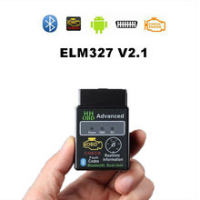 HH OBD ELM327 Bluetooth OBD2 OBDII CAN BUS di Controllo Del Motore Auto Diagnostico Auto Scanner Tool di Interfaccia Adattatore Per Android