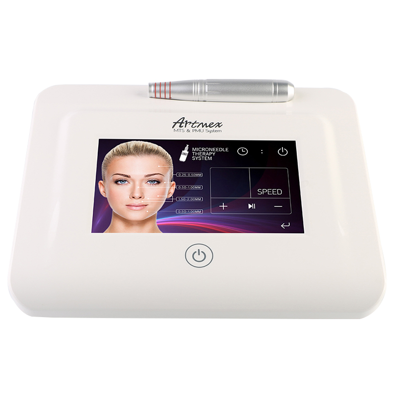 New Artmex V11 Pro Digital Eyebrow Lip Tattoo Machine Permanent Makeup Micro-needle Therapy Device MTS PMU System