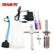HSP 80141 Rechargeable Glow Plug starter Igniter AC Charger Ignition kit for Gas Nitro Engine Power 1/10 1/8 RC Car Engines