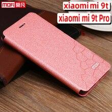 Étui à rabat pour xiaomi mi 9t pro étui xiaomi 9t étui de luxe support en cuir dos silicone livre funda protéger transparent capa 9t pro