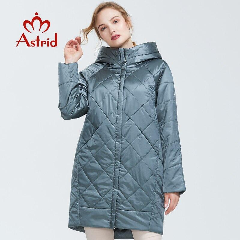 Nuevo abrigo de algodón fino de alta calidad con capucha de alta calidad para mujer de nueva llegada de otoño 2019 soy 9176-in Parkas from Ropa de mujer    3