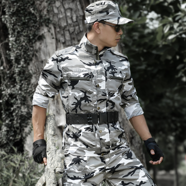 Uniforme Militar Multicam Camouflage Tactical Suit Fishing Hunting Clothes Men Women Ropa Caza Combat Airsoft Camo Ghillie Suit 3