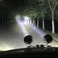 """6 """"60 W voiture feux de route phare LED projecteur projecteur 4WD antibrouillard Offroad phare 4x4 camion magnétique Auto travail projecteur"""