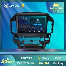Автомагнитола 2 Din, Android 9,0, 9 дюймов, для Lexus RX300 1997-2003, для Toyota Harrier 1998, GPS-навигация, мультимедийный проигрыватель с Wi-Fi, без DVD