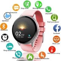 Donna uomo Smart Electronic Watch orologi digitali di lusso per la pressione sanguigna moda Calorie Sport orologio da polso modalità DND per Android IOS