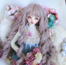 60cm Fashion Doll Hair 1/3 bjd Dolls Make-up Fashion Long Curly Wig Doll Accessories Girls Birthday Gifts sd Dolls DIY Toy
