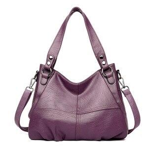 Image 4 - Moda hakiki deri çanta bayanlar büyük kapasiteli tasarımcı büyük Tote çanta kadınlar için lüks omuzdan askili çanta bayan çanta