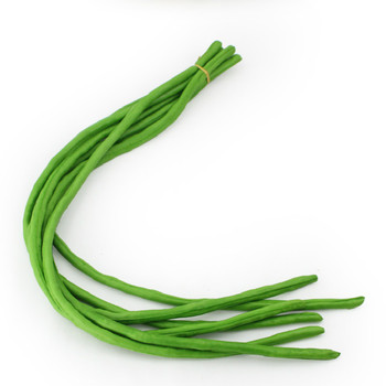 Festive Party Supplies Artificial PU plastic Simulation Green Beans Sauteed Carobs Model Decorations Props 6pc/lot image
