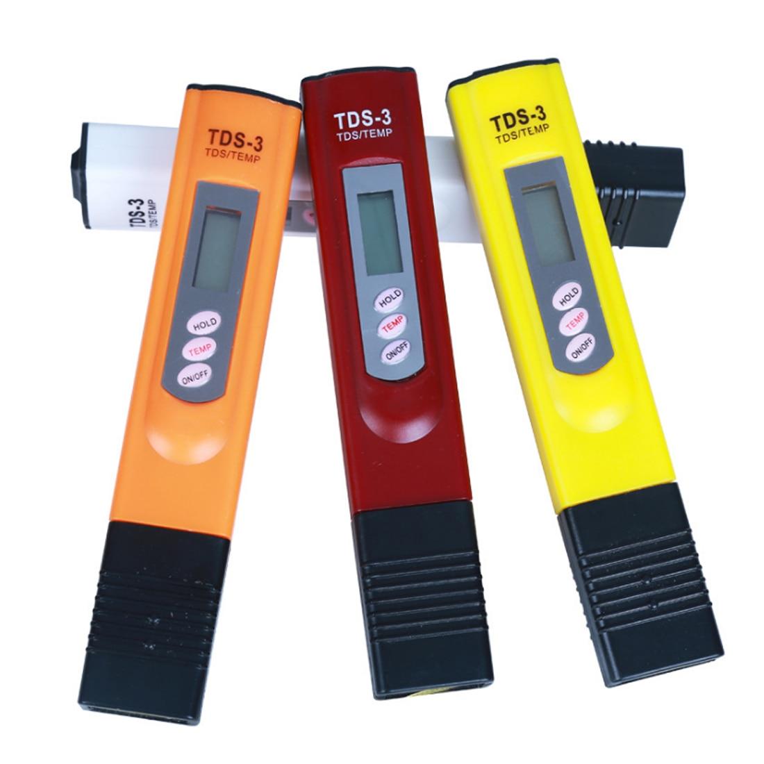 Портативный ЖК-Цифровой TDS тестер качества воды тестер ручка фильтр-метр измерительные инструменты аксессуар для Аквариума Бассейн