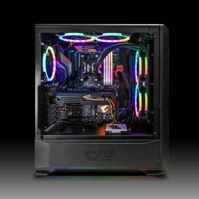 DarkFlash-ventilador DR12 Pro para PC, Enfriador de CPU silencioso de 120mm, AURA SYNC 5V/3 pines,  6