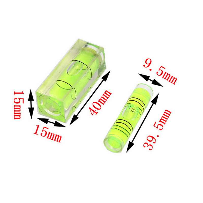 Mini Kunststoff Wasserwaage Acryl Leveler Acryl Mess Niveau Einstellung 20-30 Degree Mini T-Typ Wasserwaage