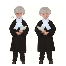 New Kids Boy Girl Lawyer Costume Children Judge Cosplay Costumes halloween costume for kids Party Dress Supplies