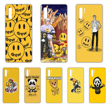Justin Bieber drew Phone Case cover For HUAWEI p 8 9 10 20 30 40 P pro Smart 2017 2019 Z lite transparent Etui painting cover image