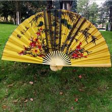 1.7*0.9 m hanging fan large decorative folding craft COS props wedding decoration free shipping