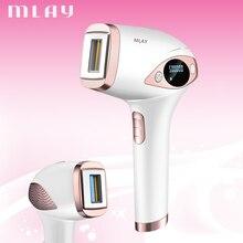 MLAY T4 500000 Flash Professional Laser Epilator LCD Display Laser IPL Hair Removal Machine Photoepilator Painless Depilador