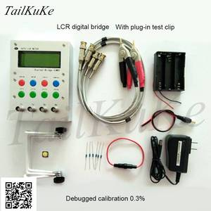 Image 1 - XJW01 LCR digital bridge tester  ESR Kit