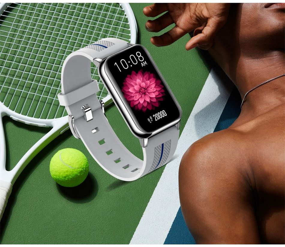 H82cf077049244ae0b51368bed3974525e New Smart Band Watch Fitness Tracker Bracelet Waterproof Smartwatch Heart Rate Monitor Blood Oxygen LED Screen For Huawei Xiaomi