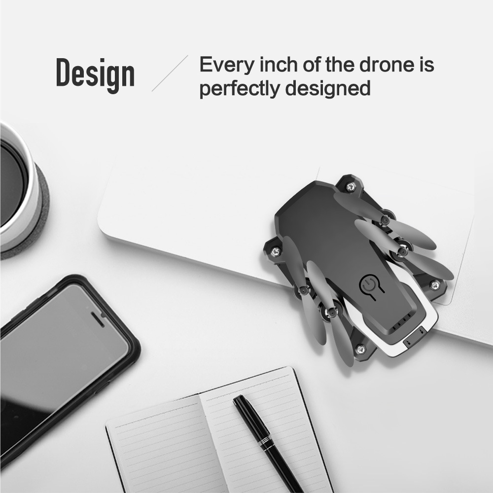 LF606 RC Quadcopter Foldable FPV 4K HD Camera Drone With Altitude Hold Function and Wifi 1