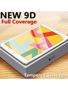 Tempered Glass For iPad 2017 2018 9.7 10.2 Air 1 2 3 Screen Protector For ipad 7 2020