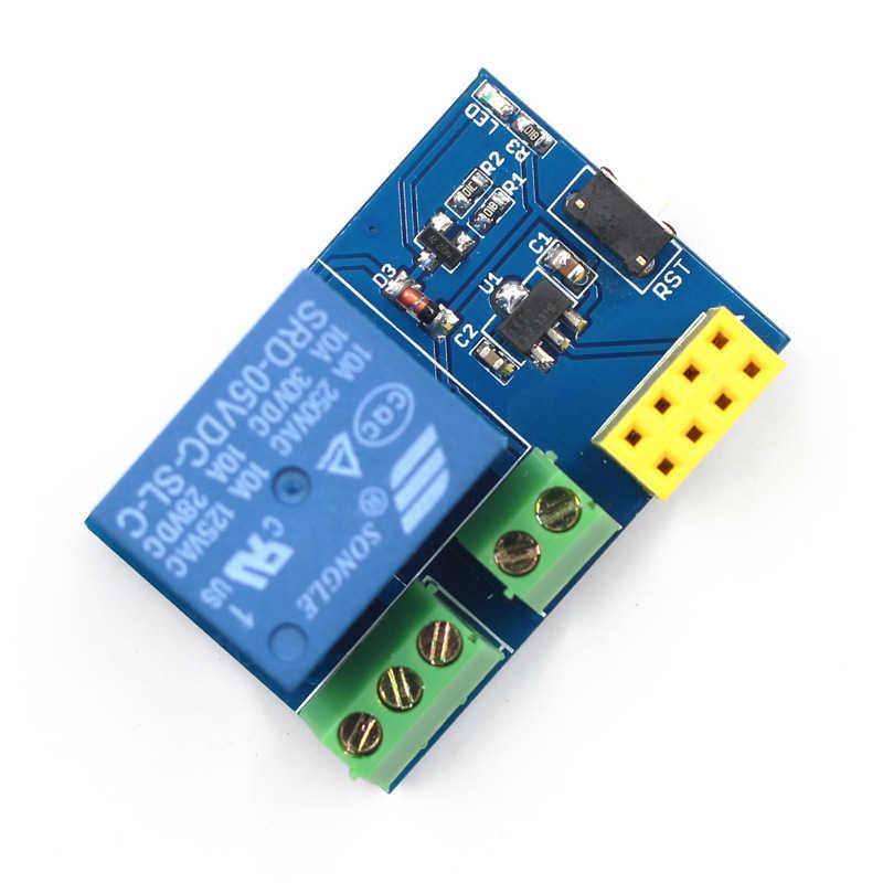 ESP8266 ESP-01S 5V WIFI Modul Hal Yang Dapat Rumah Pintar Remote Control Switch untuk Ponsel Aplikasi ESP01S Nirkabel Modul WIFI