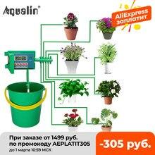 Bonsai borrifador automático de irrigação #22018, sistema borrifador automático de irrigação por micro goteiras, micro aspersor com controlador inteligente para jardim, uso interno