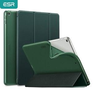 Чехол ESR для iPad Mini 5, для iPad Pro 10,5 дюйма, для iPad Air 3/iPad 7th/iPad Air, сенсорный смарт-чехол из ТПУ с автоматическим пробуждением и спящим режимом