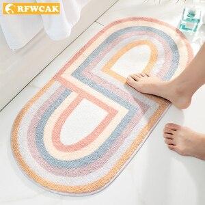 New Nordic Bath Mat Bathroom Carpet Non Slip Entrance Floor Mat Doormat Kitchen Absorption Rugs Tapete Para Sala Home Decoration(China)