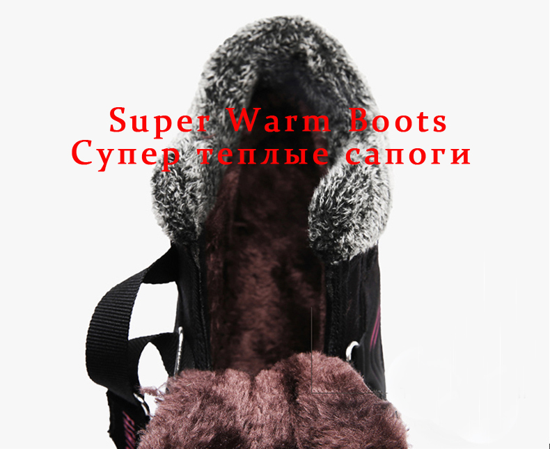 Brand Winter Women Snow Boots Shoes Waterproof Suede Women Warm Plush Krasovki Ankle Boots Female Shoes Wedge Snow Sexy Boots 92