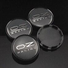4 Pcs OZ Racing 63mm Wheel Center Hub Cap M595 for O.Z Rim Superturismo Ultraleggera Carbon Fiber Style Buy 4 Get 1 FREE