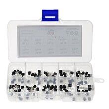 100pcs/box TO-92 Voltage regulator transistors assortment Kit 78L05 78L06 78L08 78L09 78L12 78L15 79L05 79L12 79L15 LM317