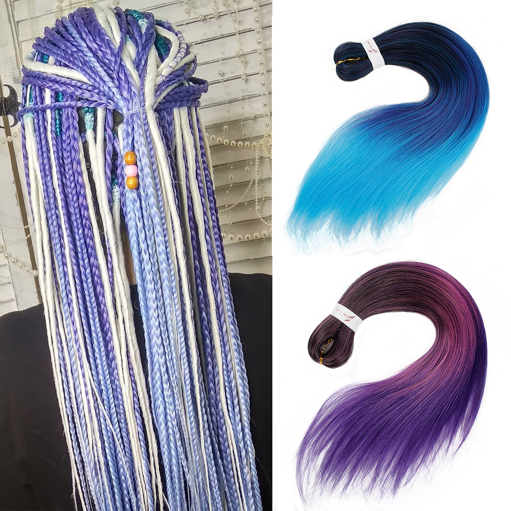 Easy Jumbo Braids Hair Crochet Pre Stretched Braiding Hair Synthetic Extension 26