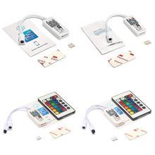 Светодиодный wifi RGB RGBW контроллер DC 5 в 12 В 24 в музыкальный контроллер от Amazon Alexa домашний телефон wifi светодиодный контроллер для светодиодной ленты 5050