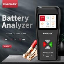 Ediag BM510 Battery tester for 6V 12v 24V car battery analyzer charging Ripple test