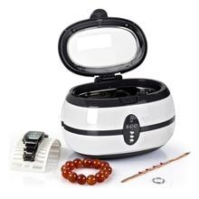 600ml Ultrasonic Cleaner 35W Jewelry Eyeglass Watch Circuit Board Cleaning Machine Intelligent cleaning bath power driver